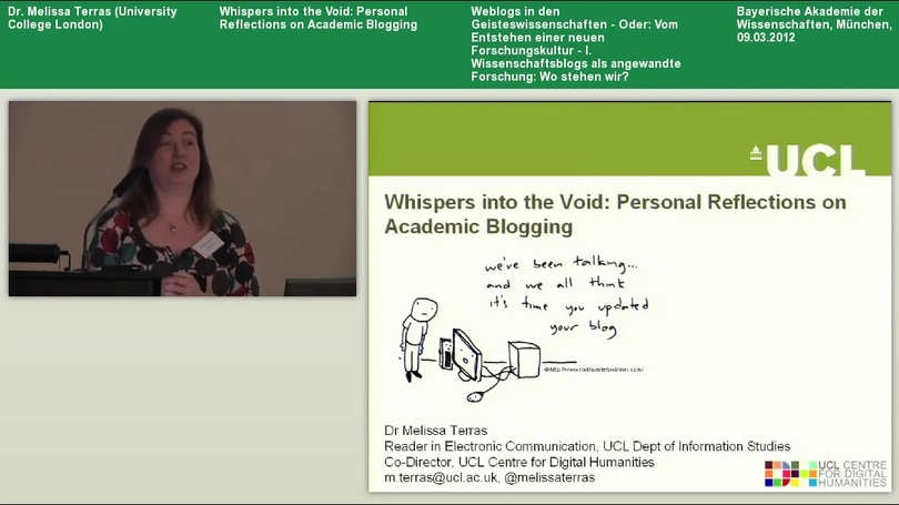Whispers into the Void - Personal Reflections on Academic Blogging