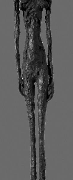 Giacometti in der Hamburger Kunsthalle