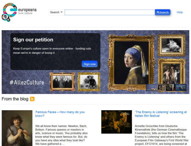 Europeana - Digital Access to Europe's Culture