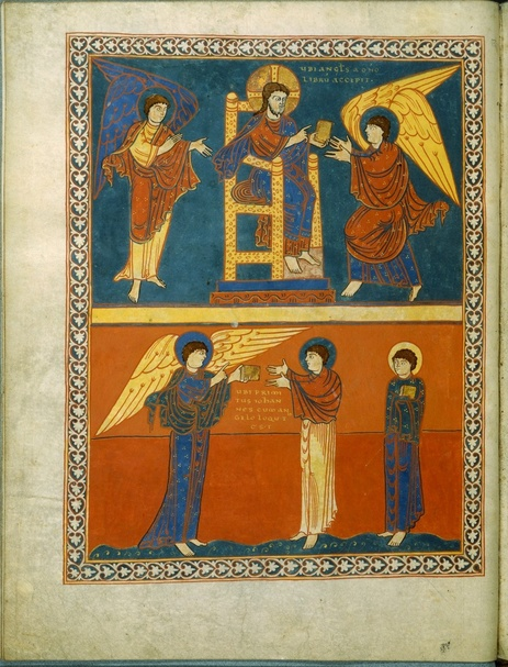 A Survey of Illuminated French manuscripts of the tenth and eleventh centuries