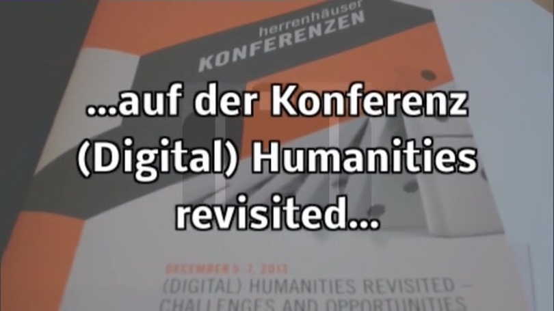 (Digital) Humanities revisited