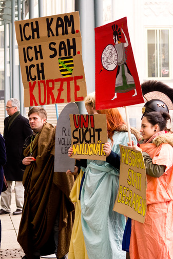 Sechs Monate Protest in Leipzig
