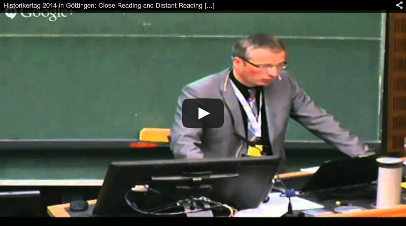 Close Reading and Distant Reading. Methoden der Altertumswissenschaften in der Gegenwart