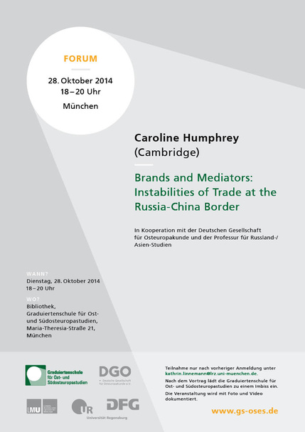 Forum: Brands and Mediators: Instabilities of Trade at the Russia-China-Border