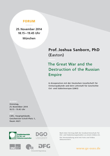 Imperial Apocalpyse: The Great War and the Destruction of the Russian Empire