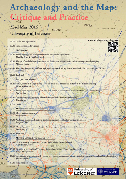Archaeology and the Map: Critique and Practice (Programme)