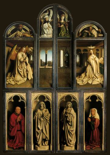 A brief reply to Griet Steyaert's recent article on the Ghent Altarpiece