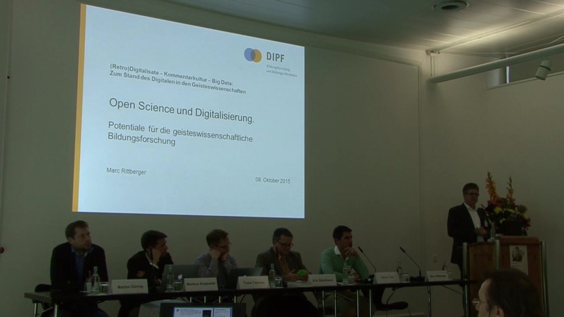 #RKB15: (Retro)Digitalisate – Kommentarkultur – Big Data: Zum Stand des Digitalen in den Geisteswissenschaften