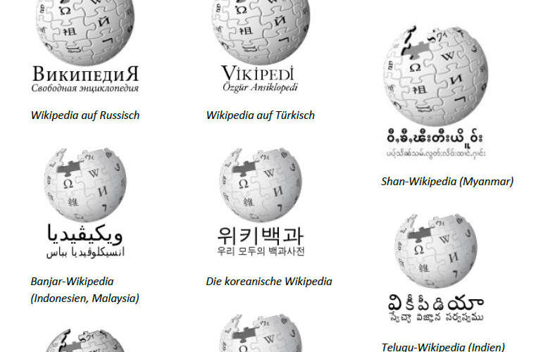Wikipedia international