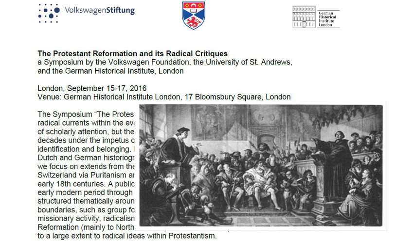 The Protestant Reformation and its Radical Critiques