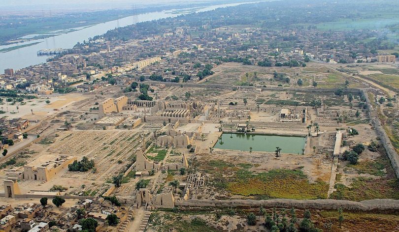 The conservation specifities of an archeological site as Karnak