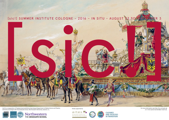 "[sic!] Summer Institute Cologne 2016 ""In Situ"""