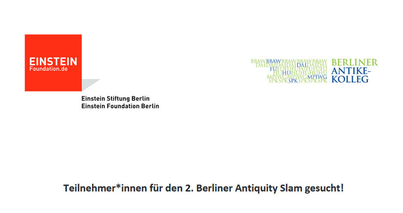 2. Berliner Antiquity Slam
