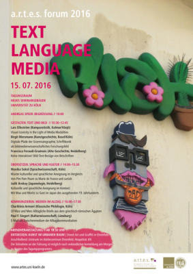"a.r.t.e.s. forum 2016: ""Text 