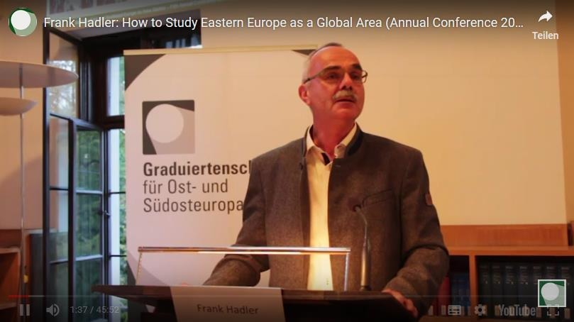 "Frank Hadler: ""How to Study Eastern Europe as a Global Area(?)"""