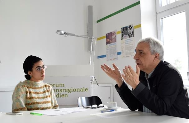 "Yassin Al Haj Saleh (Senior EUME Fellow of the Gerda Henkel Foundation 2019) in conversation with Nayera A. Soliman (Freie Unversität Berlin)  on ""Freedom: Home, Prison, Exile…and the World"""