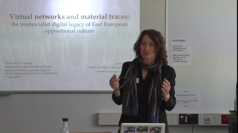 Dr. Jessie Labov | Virtual Networks and Material Traces: The Postsocialist Digital Legacy of East European Oppositional Culture