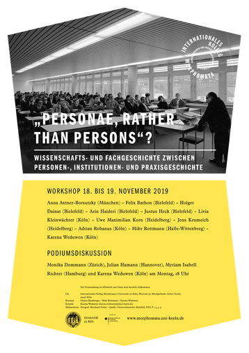 """PERSONAE, RATHER THAN PERSONS""?"
