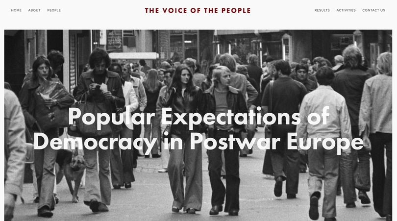 Three PhD-scholarships in the political history of post-war Europe