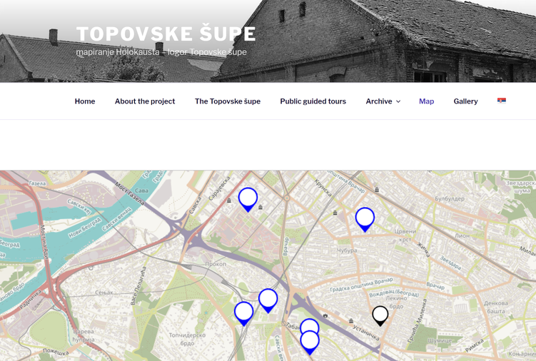 Digitised History of the Topovske Šupe Concentration Camp: a Project of the Centre for Public History, Belgrade